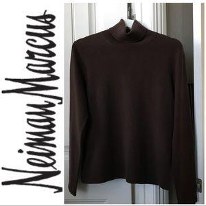 Neiman Marcus 100% Cashmere Sweater Sz L