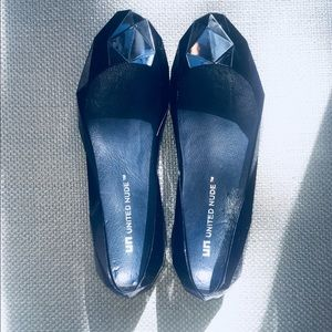 United Nude Lo Res Transparency Navy Rubber