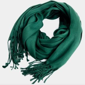 Accessories - New. 100% Pashmina green scarf!