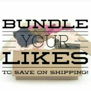Other - Bundles your likes and get a shipping discount