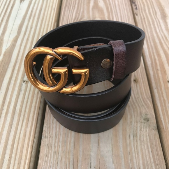 62f10fdc7 Gucci Accessories   Mens Belt Coffee Brown Waistband Size 4142 ...