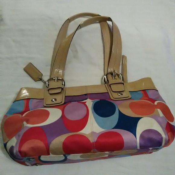 64ac6d6f27 Coach Handbags - COACH PURSE AUTHENTIC EC!