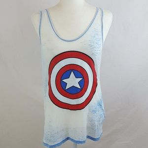 Marvel - Captain America Tank