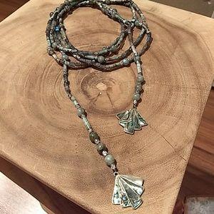 Jewelry - Labradorite lariat necklace