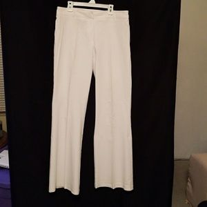 White Stretch Dress Slacks / Pants