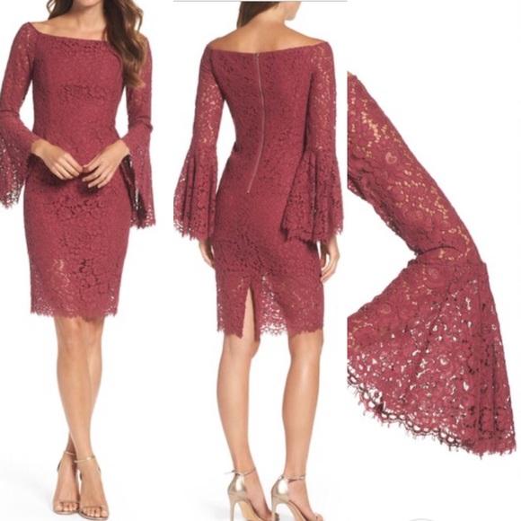 d539a06a Bardot Dresses | Solange Corded Lace Sheath Dress | Poshmark