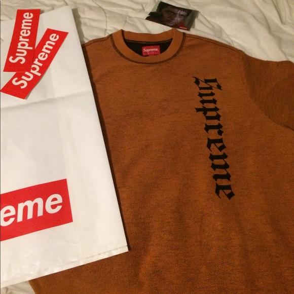 df0f6b5102f2 Supreme Reverse Terry L S top sweater
