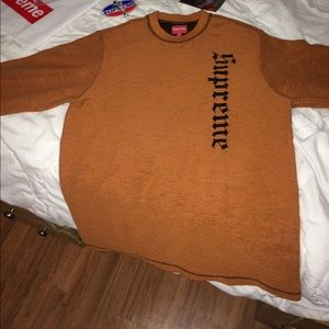 fe45c213ec90 Supreme Shirts - Supreme Reverse Terry L S top sweater