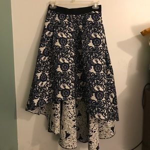 Anthropologie high-low skirt