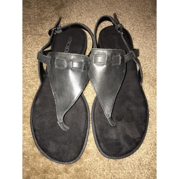 3c96674cea5f AEROSOLES Shoes - Aerosoles  Coastline  Black Gladiator Sandal
