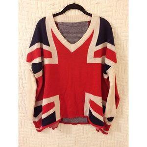 Sweaters - Union Jack Sweater