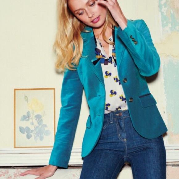 a870b7862658 Boden Jackets & Coats   Annabel Velvet Blazer Jacket   Poshmark