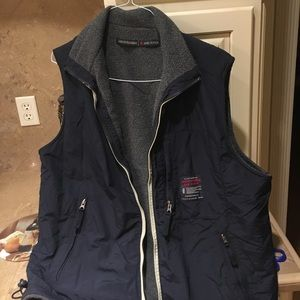 Abercrombie and Fitch fairly heavy reversible vest