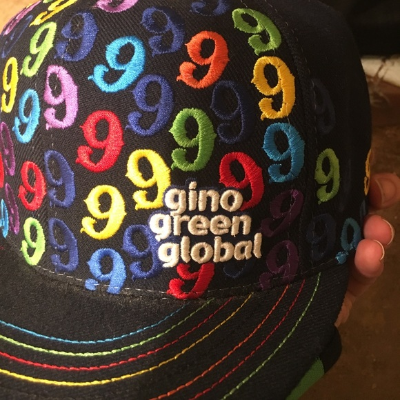 8b61bd724fa Gino Green Global Other - Super rare Gino Green Global hat all embroidered