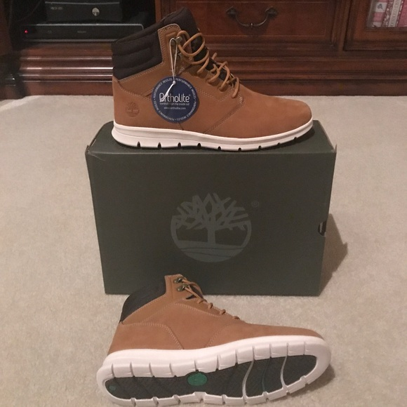 wholesale outlet lace up in sneakers for cheap Timberland Hoverlite Boots Size 9.5 NWT