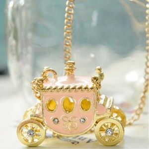 SUPER CUTE CINDERELLA NECKLACE TUB1