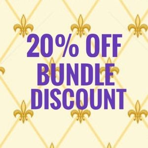 Other - BUNDLE DISCOUNT 20%