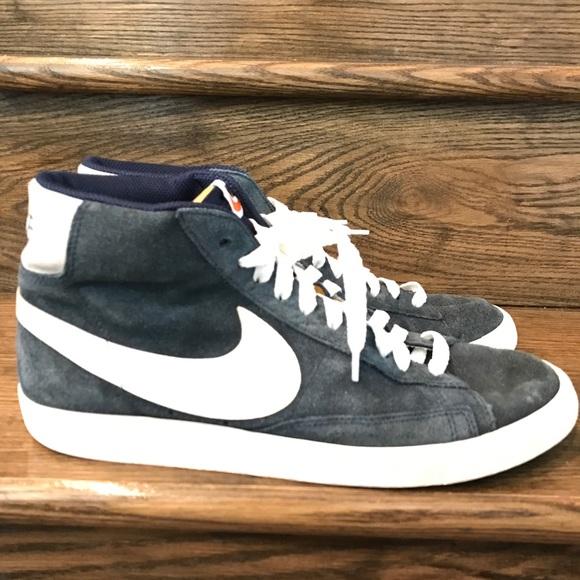 57245da34817 Mens Nike Blazer High Premium Retro Shoes 10.5. M 59f47413ea3f36e37600a9b6