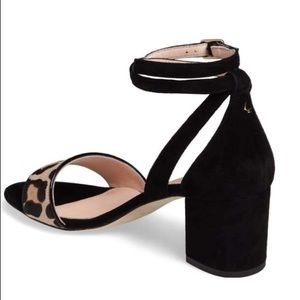 kate spade Shoes - New Kate Spade Watson Too leopard low block heels