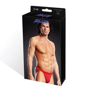Blueline Underwear & Socks - Blueline Red Performance Microfiber Thong