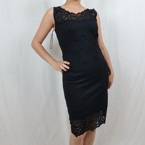 NWT INC INTERNATIONAL CONCEPTS BLACK LACY  DRESS