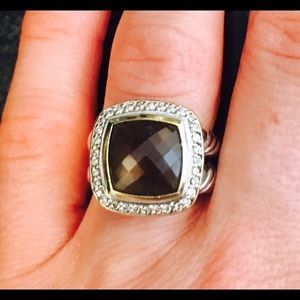 David Yurman Jewelry - Authentic David Yurman 11mm Smoky Quartz ring