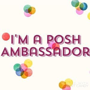 I'm excited to be a Poshmark Ambassador!!! 🎉🎉🎉