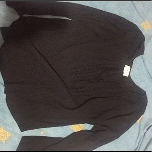 Black Ralph Lauren peasant shirt