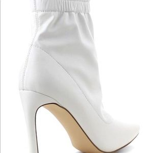 0f73ce1220b Shoes - Winter Faux Leather Ankle Stiletto Bootie