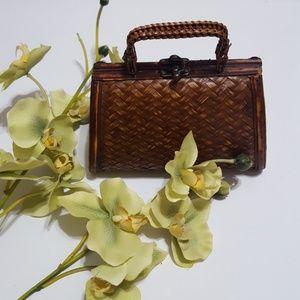 Handbags - Cutest Wooden Purse