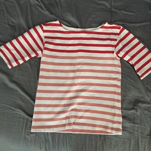 J. Crew ombré red top size xs