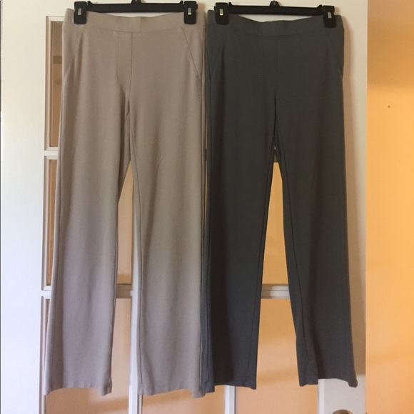 IMAN Global Chic Perfect Ponte 360 Slimming Boot-Cut Pants Black 14 Size HSN