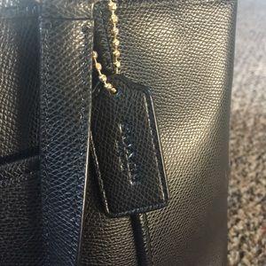 Coach Bags Black Purse With Side Pockets Poshmark