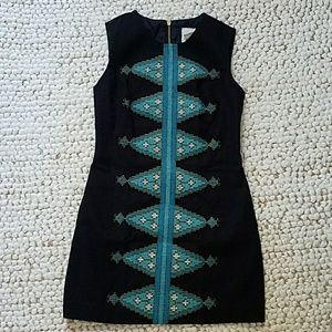 Tabitha/Anthropologie Embroidered Dress