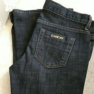 Bebe Flair Leg Premium Denim Jeans