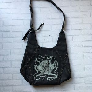 d47a3ddfc096 sourpuss Bags - Sourpuss Octopus hobo purse