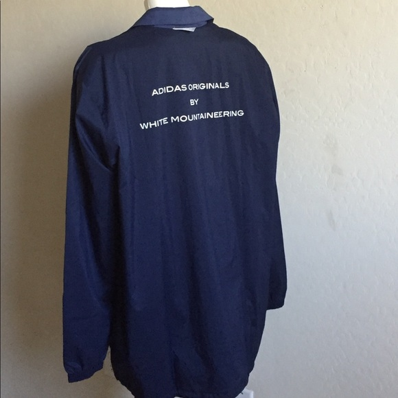 d30d9b496f7c Adidas x White Mountaineering Long Bench J Jacket