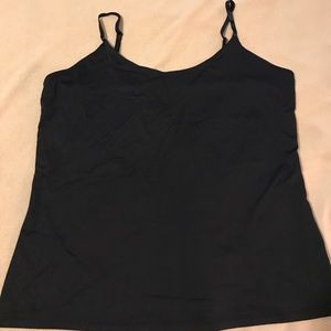 Black camisole tank
