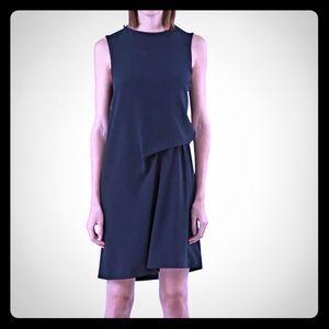 NWT Acne Studios Black Draped Caprice Dress