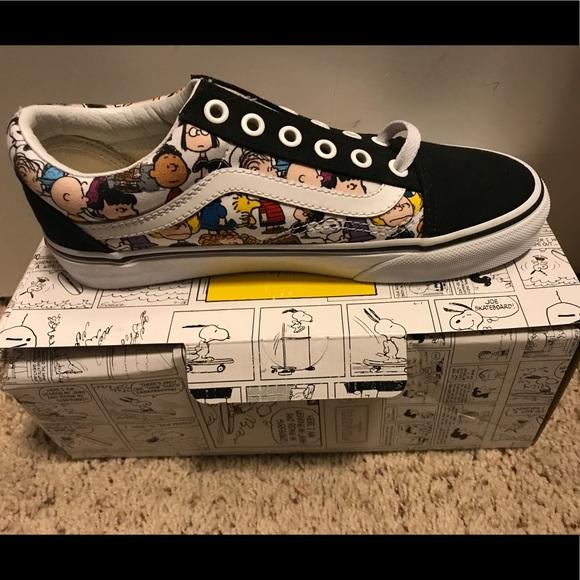 8f791cb2fa1 New Vans Old Skool Peanuts Snoopy Custom shoes