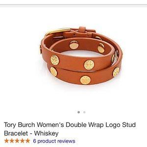 Tory Burch studded wrap bracelet