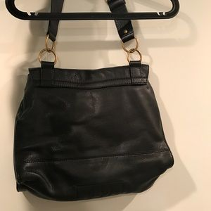 Yves Saint Laurent Bags - YSL black leather messenger bag rive gauche f93386d305ba8