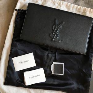 Saint Laurent Clutch bag black