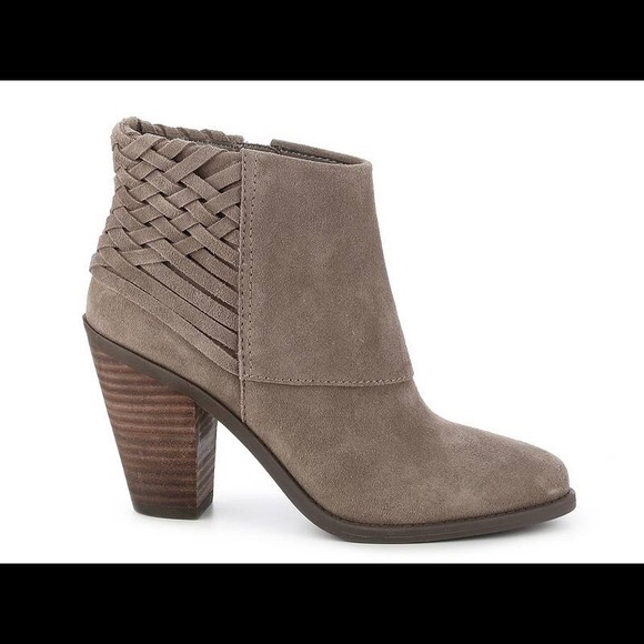 Jessica Simpson Size 10 Taupe Suede Boots New Womens Shoes