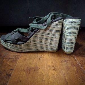 Colin stuart wedge platform sandals