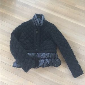 Moncler Jackets & Coats - Moncler wool and down Gaufre jacket