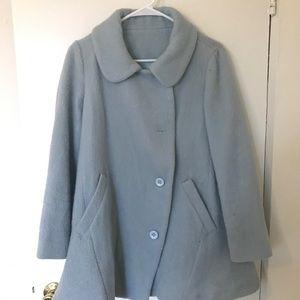 Light Blue Pea Coat US4-6
