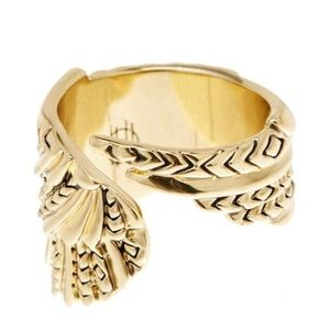 House of Harlow 1960 Angel Wing Wrapped Ring