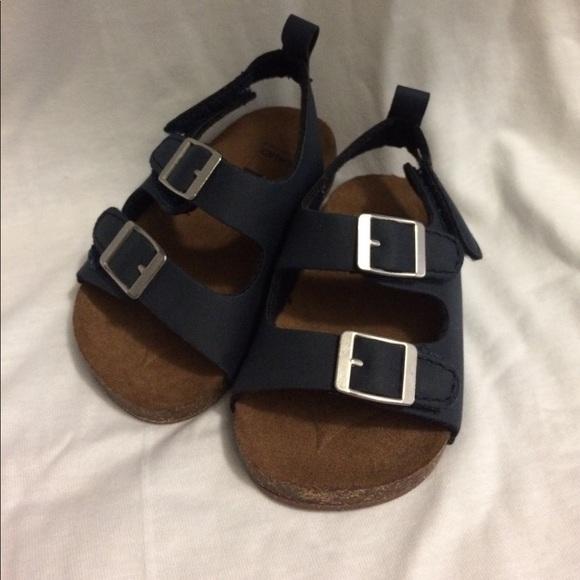 Baby Boy Birkenstock Style Sandals