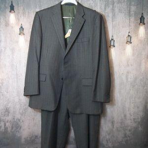 Burberry London Suit 42 S Jacket Size 38 Pants